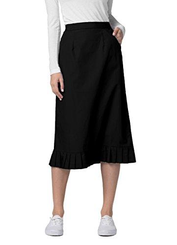 Adar Universal Pleat Flounce Scrub Skirt (Available is 10 colors)