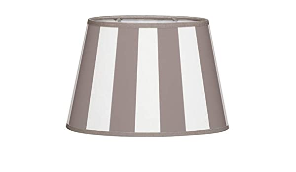 Brillibrum Design - Pantalla para lámpara de mesa, diseño de rayas ...