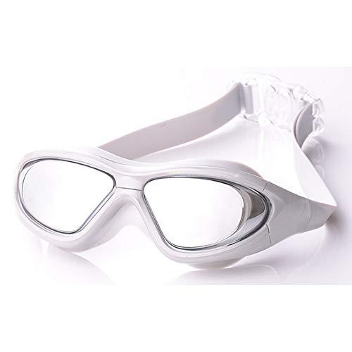 QYY Goggles Anti Fog and Anti UV Adult Swim Pool Water Eyeglasses Eyewear Swimming Goggles,Gray