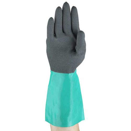 AlphaTec Chemical Resistant Gloves, Ansell 58-535B-9, 1-Pair, (Pack of 5) (58-535-9)