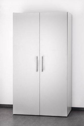 Miniküche im schrank  Mebasa MK0011S Schrankküche, Miniküche, Single Küche in Silber ...