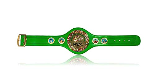 (WBC CHAMPIONSHIP BELT REPLICA WORLD BOXING COUNCIL FULL SIZE ADULT TYSON ALI)