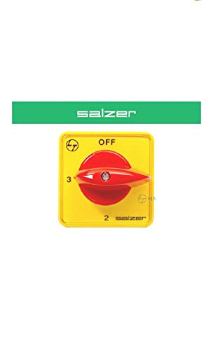 SAZLER Rotary Switch, 63Amps, Phase Selector 1 POLE 3 WAY WITH OFF (Cat no: 61060PIB03TDYR) Price & Reviews