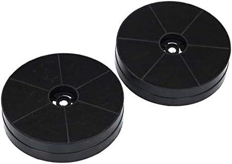 2x filtro de carbón activado Filtro de carbón activado Juego de ...