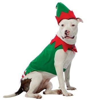 Elf Dog Pet Pet Costume - X-Small