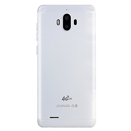 Mbtaua-Phone 5.0'' Big Battery Ultra-Thin SmartphoneAndroid 5.1 Quad-Core 512MB+4GB GSM 3G WiFi Dual Smartphone White