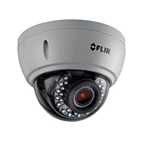 FLIR Digimerge C237VC Outdoor 4-in-1 Security Dome Camera, 1.3MP HD MPX WDR, 2.8-12mm, Motorized Zoom Lens, 85ft Night Vision, Works with AHD/CVI/TVI/CVBS/Lorex, Flir MPX DVR, White (Camera Only)