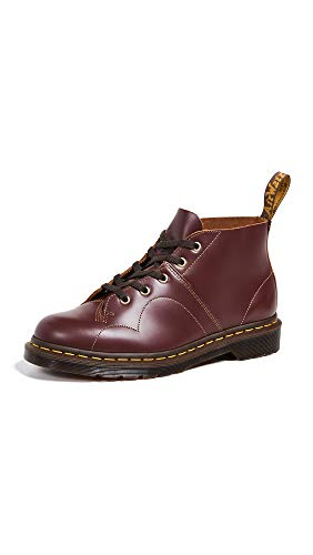 Dr. Martens Men's Church Vintage Smooth Chukka Boot, Oxblood, 10 UK/11 M US