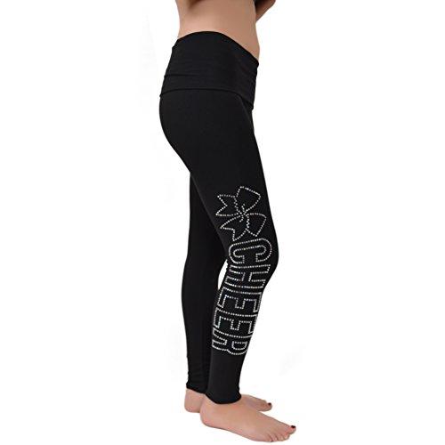 stretch-is-comfort-girls-cheer-rhinestone-foldover-cotton-leggings-black-large