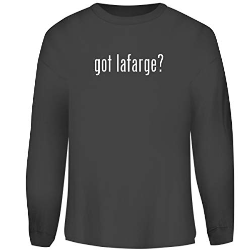 d got Lafarge? - Men's Funny Soft Adult Crewneck Sweatshirt, Grey, XX-Large ()