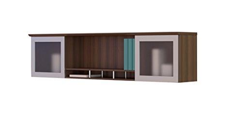 Mayline Modern Desk - Safco Products MNH63TBS Medina Hutch Cabinet, 63