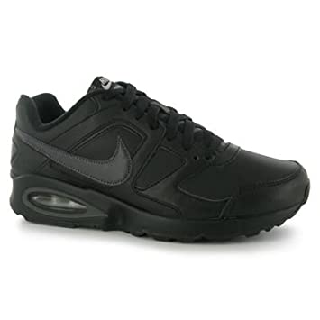 nike air max chase leather noir vert blanc