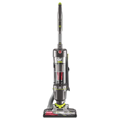 Hoover Filter WindTunnel Air Steerable Pet Bagless Upright Vacuum Cleaner, with HEPA Media Filtration, UH72405, Grey