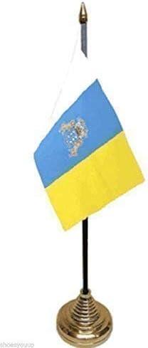 Islas Canarias España español de mesa bandera 15,24 cm X 10,16 cm ...