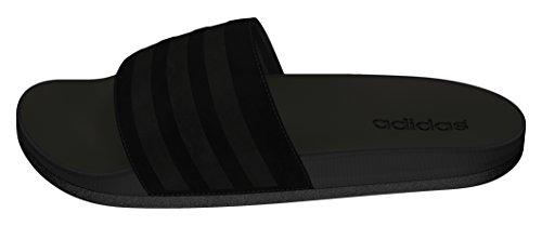 adidas Herren Adilette CF Ultra Explorer Zehentrenner, Schwarz (Negbas/Negbas/Negbas), 46 EU