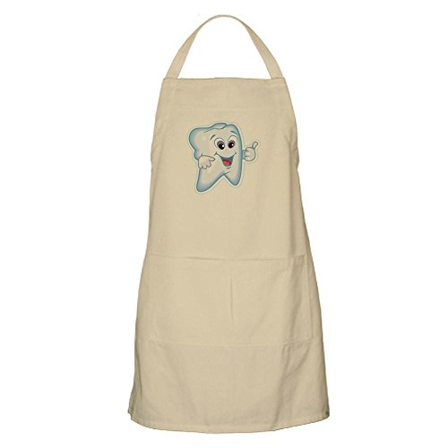 - CafePress Funny Dentist Dental Humor Kitchen Apron with Pockets, Grilling Apron, Baking Apron