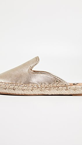 Kerry Molten Sam Women's Metallic Edelman Leather Gold Mule xpp8E1Z