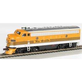 Bachmann Industries F7-A DCC Ready Diesel HO Scale Western Maryland Locomotive (Western Maryland Ho Scale)