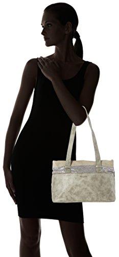 Tamaris Khema Shoulder Bag - Bolso de hombro Mujer Grau (grey Comb.)