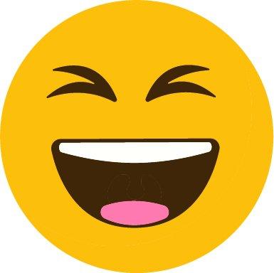 Pegatina Coche Emoticono Risa Malvada 20 X 20 Cm Adhesivo De Fácil