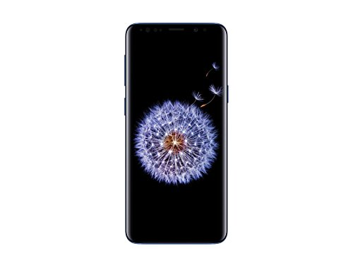 Samsung Galaxy S9 G960U 64GB Unlocked GSM 4G LTE Phone w/ 12MP Camera - Coral Blue (Renewed) ()