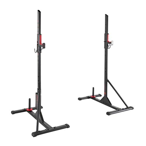Amazon.com: Squat Rack Barbell Rack Home Bench Squat Protection Frame Multi-Function Fitness Simple Weight Bench Frame Equipment (Color : Black, ...