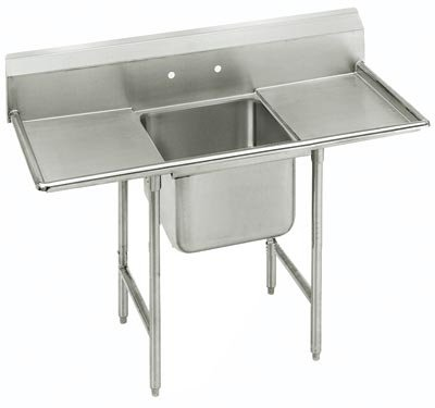 """Advance Tabco 54"""" Regaline One Compartment Sink Model T9-1-24-18RL"""