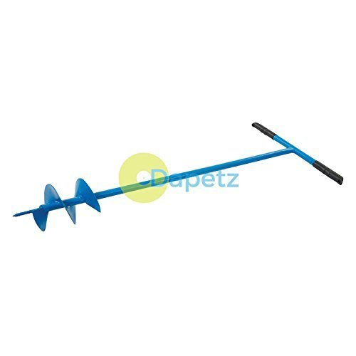 Dapetz ® Post Hole Auger 127mm Dia Creates Fence Post Holes in Most Soils Length 1100mm