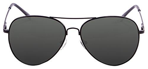 Ocean Eye Gafas de Sol, Unisex Adulto, Negro (Nero/Grigio ...