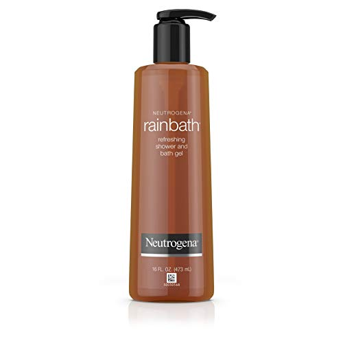 (Neutrogena Rainbath Refreshing and Cleansing Shower and Bath Gel, Moisturizing Body Wash and Shaving Gel with Clean Rinsing Lather, Original Scent, 16 fl. oz )