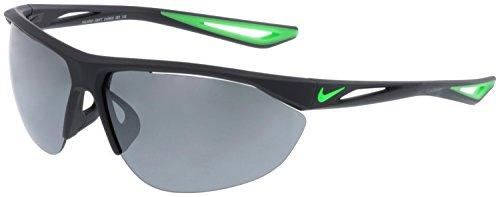 Nike Mens Tailwind Swift Rectangular Non-Polarized Sport Sunglasses Gray (New Nike Sport Sunglasses)