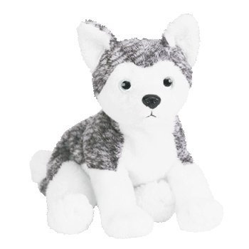 (Ty Beanie Baby - Mukluk The Husky Dog (White Eyes))