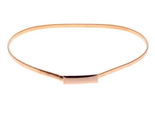Herebuy - Fashion Belts for Women Gold Skinny Waist Belt for Dress (Gold Dress Belt)