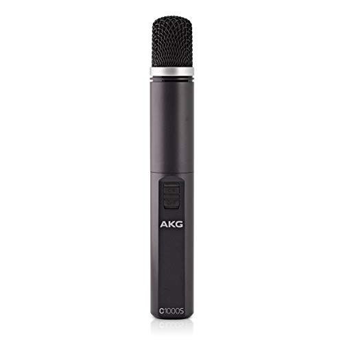 AKG C1000S High-Performance Small Diaphragm Condenser Microphone ()
