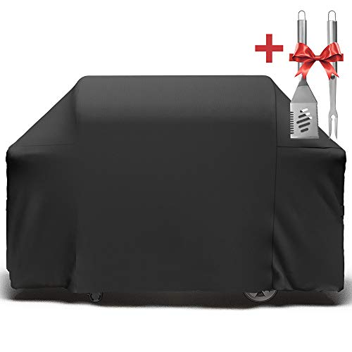 (SHINESTAR 7132 Grill Cover for Weber Genesis II 6 Burner Grill and Weber Summit 6 Burner Grill, 7132 Grill Cover for Weber Genesis 610/Genesis II LX 600 Series and Summit 600 Series Grill )