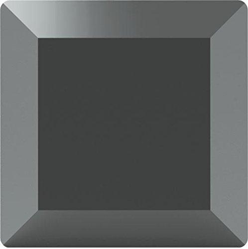 2402 Swarovski Flatback Crystals Non Hotfix Base/Square | Jet Hematite | 4mm - Pack of 720 (Wholesale) | Small & Wholesale Packs
