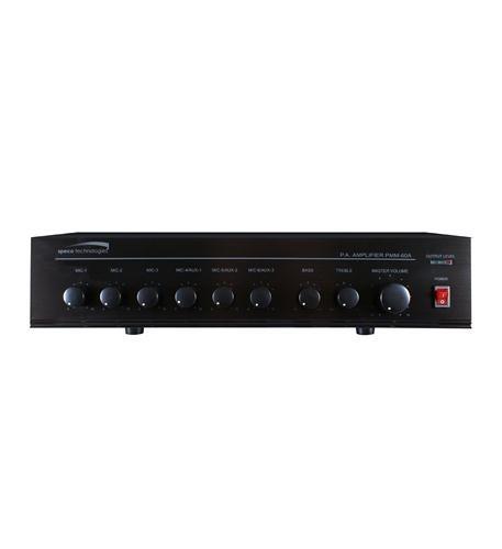 SPECO-120W PA Mixer Power Amplifier w/ 6 Input