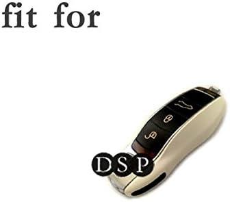 fassport Housse en silicone peau pour Porsche Cl/é T/él/écommande 3/Bouton cv2920