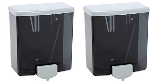 Bobrick B-40 40-fl oz Capacity, Classic Series Surface-Mounted Soap Dispenser (Pack of 2)