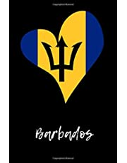Barbados: Lined Notebook  / Journal Gift, 120 Pages, 6x9, Soft Cover, Matte Finish