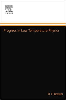 Book Progress in Low Temperature Physics