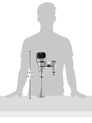Sloan Valve 3250424 Sensor Operated Urinal Flushometer, Optima Plus, 0.5 GPF
