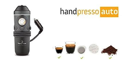 Máquina de café portátil, de 12 volts para coche y furgoneta, funciona con monodosis