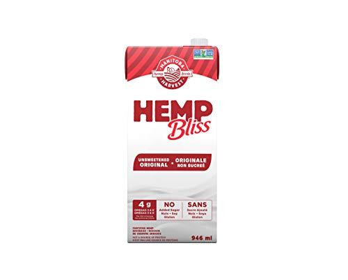 Manitoba Harvest Hemp Bliss Unsweetened Original 946ml, 5676 milliliters