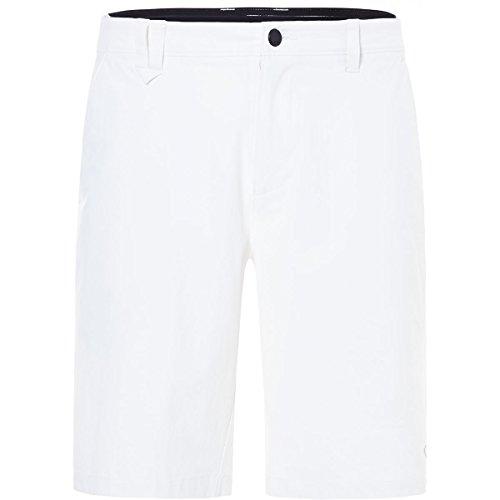 Oakley Men's Take Pro Shorts, White, Size 38