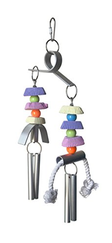 Prevue Pet Products Chime Time Typhoon Bird Toy (Prevue Chime)