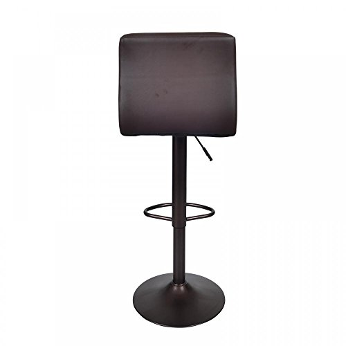 Bestoffice Brown 2 Pu Leather Modern Adjustable Swivel