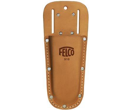 Felco 8 In. Tan Leather Holster Belt or Clip for Pruner Holder