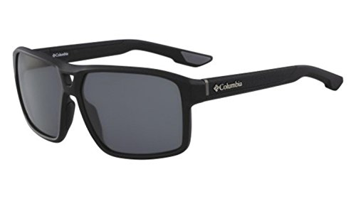 Columbia Men's Black Ridge Aviator Sunglasses, Matte Black, 62 - Frames Sunglasses Columbia