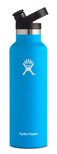 Spectrum Flask - Hydro Flask Stainless Steel Vacuum Insulated Sports Water Bottle with Cap, Pacific, 21 Ounce